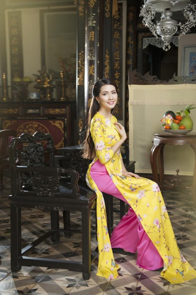Phan Thi Mo va Ngan Quynh dien ao dai nen na don xuan hinh anh 7