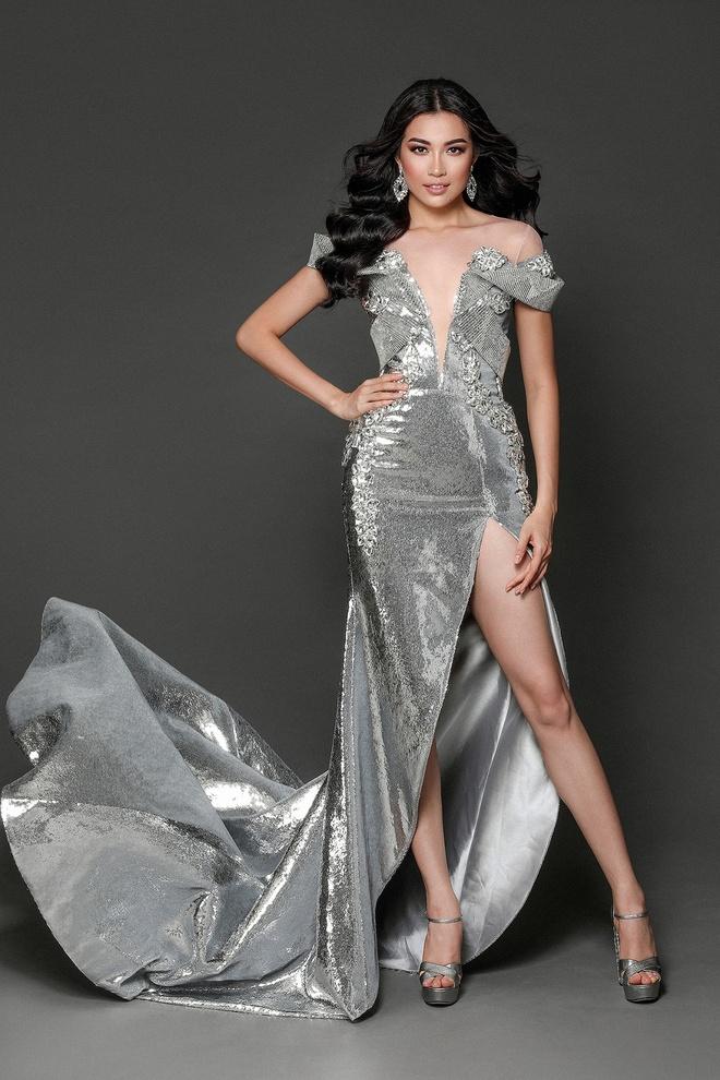 Le Hang dien vay anh kim o Miss Universe anh 1
