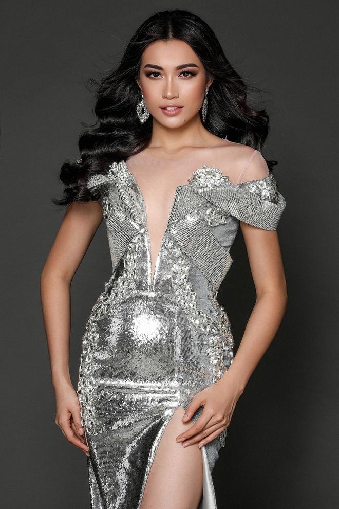 Le Hang dien vay anh kim o Miss Universe anh 2