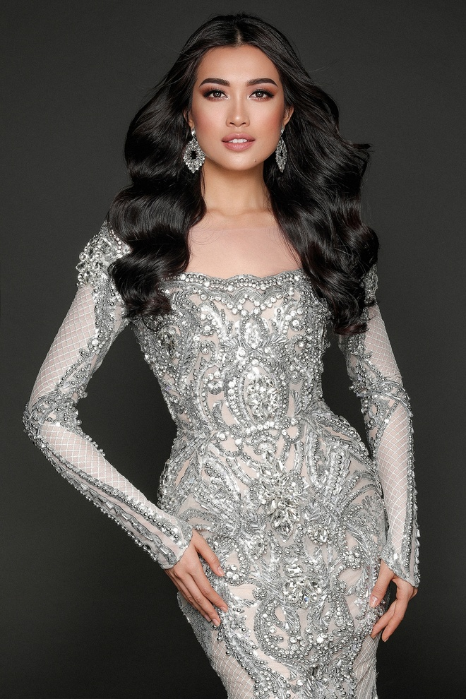 Le Hang dien vay anh kim o Miss Universe anh 4