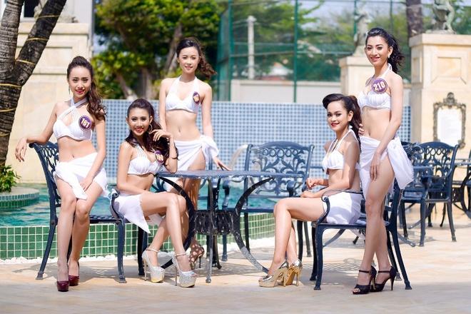 Thi sinh Hoa khoi Du lich 2017 dien bikini goi cam hinh anh 1