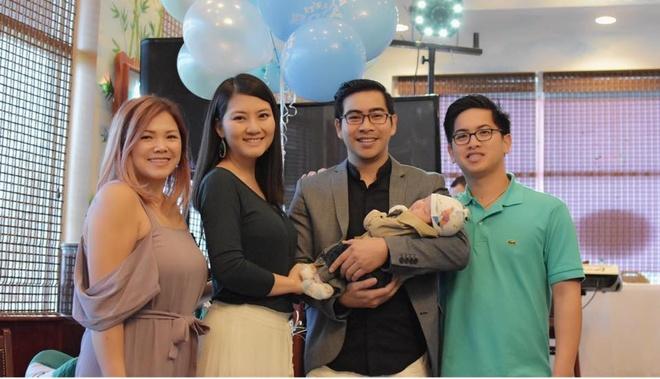 Ngoc Lan - Thanh Binh to chuc day thang con trai o My hinh anh 3