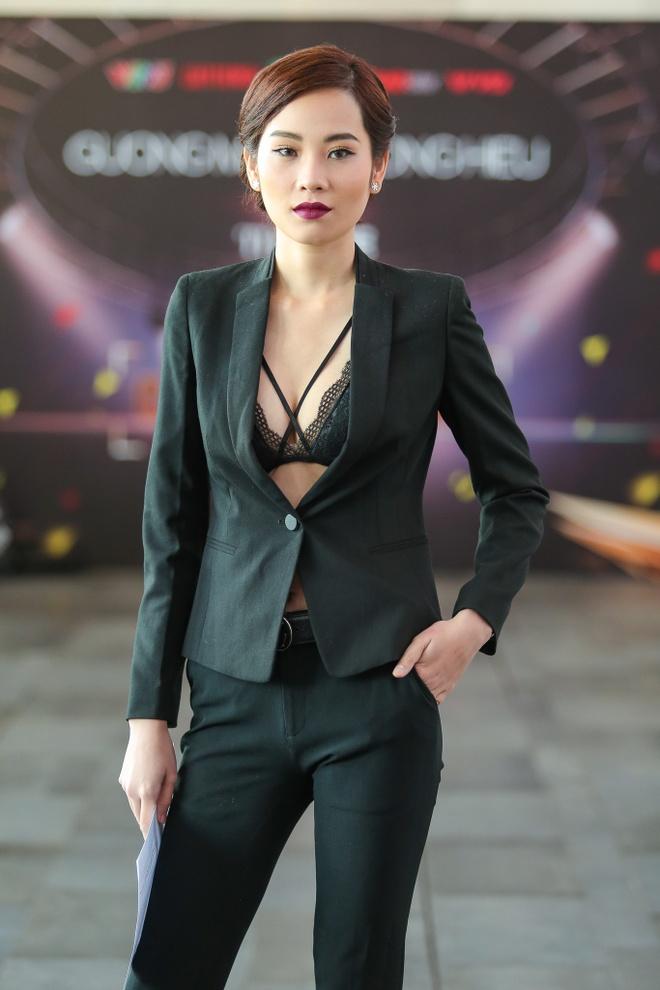 Chi gai Nam Em di casting The Face anh 1