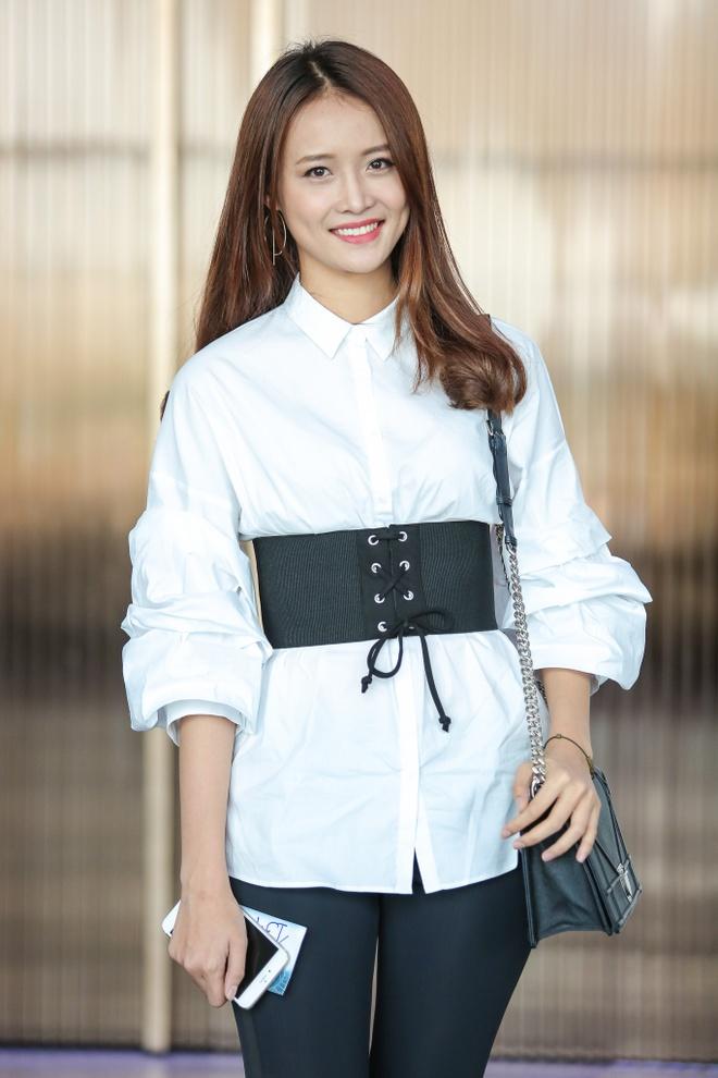 Chi gai Nam Em di casting The Face anh 3