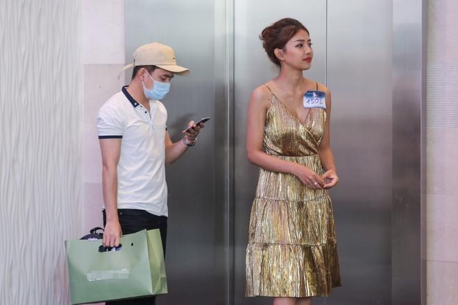Phan Manh Quynh dua ban gai di thi The Face anh 1