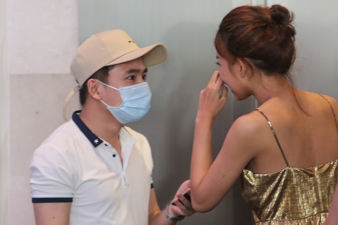 Phan Manh Quynh dua ban gai di thi The Face anh 2