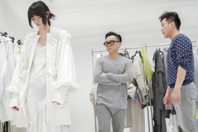 Nguoi mau hang dau Nhat Ban casting cho show dien cua Cong Tri hinh anh 2