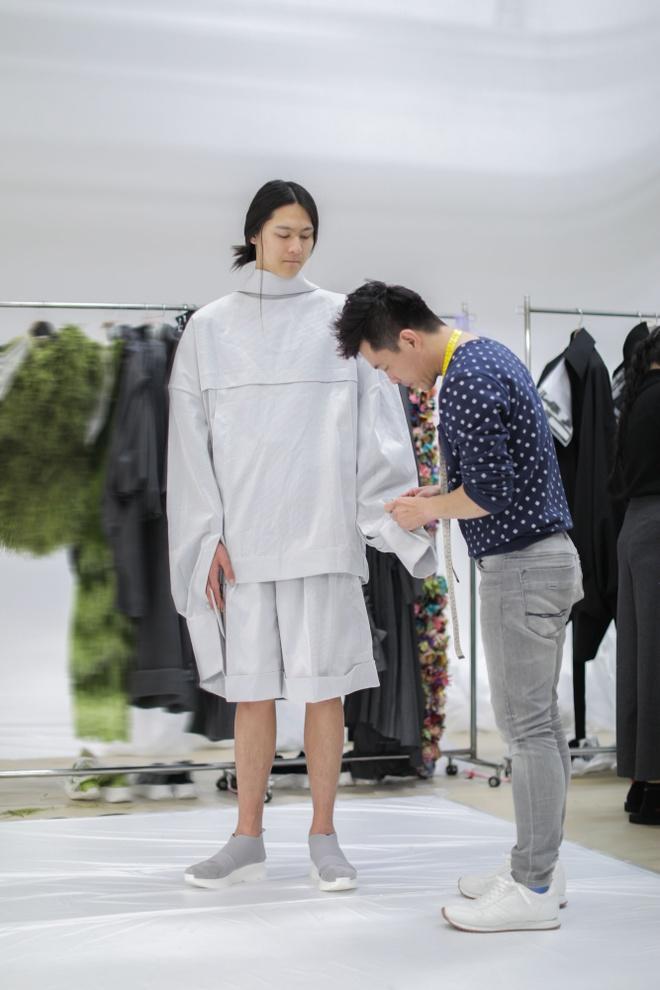 Nguoi mau hang dau Nhat Ban casting cho show dien cua Cong Tri hinh anh 7