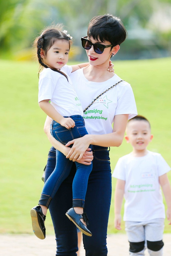 Xuan Lan, Ngo Thanh Van chung suc bao ve tre em hinh anh 3