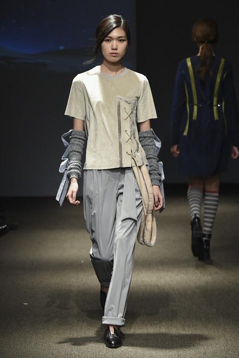 Ngoc Chau Seoul Fashion Week anh 6
