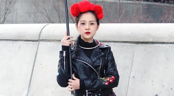 Tam Trieu Dang mac do dan toc noi bat o Tuan le Thoi trang Seoul hinh anh