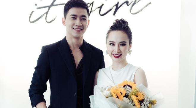 Ban trai Vo Canh den chuc mung Angela Phuong Trinh hinh anh