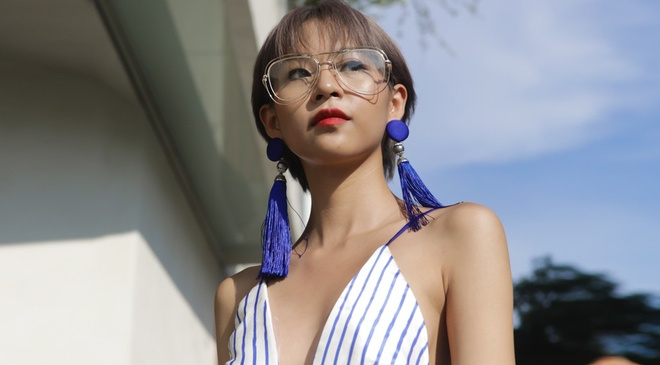 Phi Phuong Anh, Jolie Nguyen khoe sac street style hinh anh