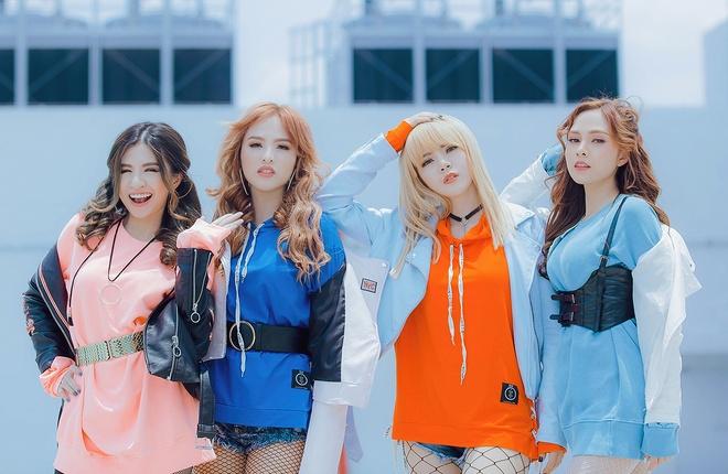 Nhom S Girls ket hop Luu Thien Huong ra mat MV moi hinh anh 1