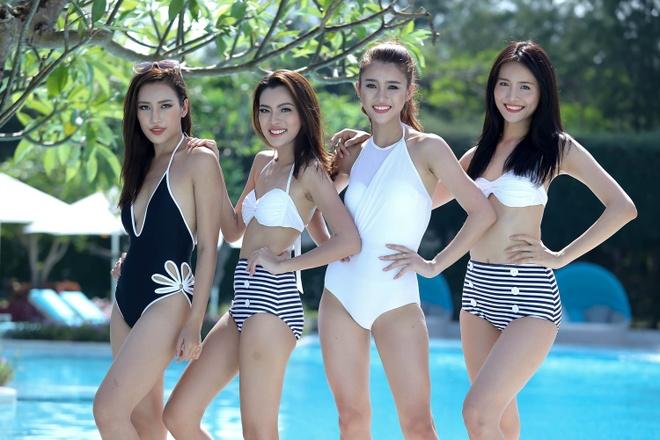 Top 10 The Face khoe dang voi bikini hinh anh 1