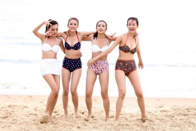 Top 10 The Face khoe dang voi bikini hinh anh 3