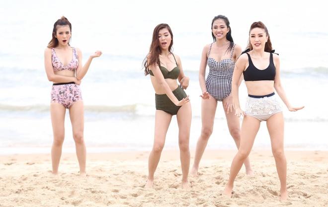 Top 10 The Face khoe dang voi bikini hinh anh 5