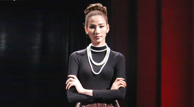 The Face tap 6: Team Hoang Thuy thua cuoc lan thu 5 hinh anh