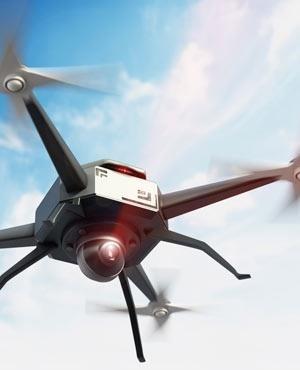 Thanh nien dung drone gan phao hoa tan cong hang xom on ao hinh anh
