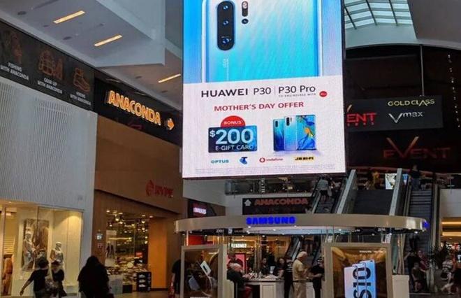 Samsung trả đũa Huawei một cách thâm thúy