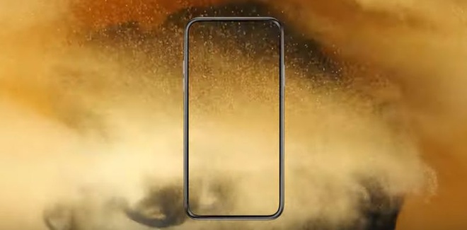 Thiet ke iPhone 2020 su dung man hinh tran toan phan hinh anh