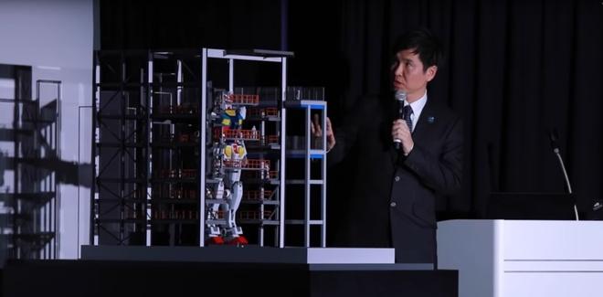 Nhat Ban che tao robot Gundam khong lo co the buoc di hinh anh 3 54.jpg
