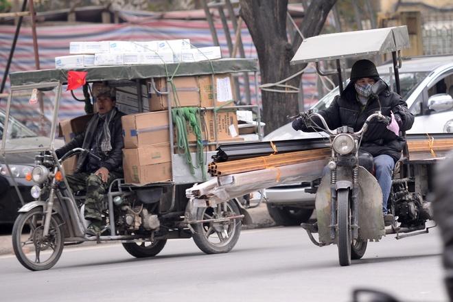 Nhung an tuong khong dep ve xe thuong binh o Ha Noi hinh anh 10