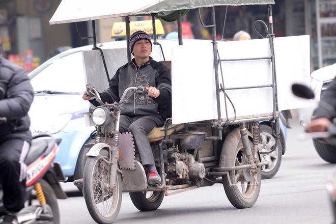 Nhung an tuong khong dep ve xe thuong binh o Ha Noi hinh anh 7
