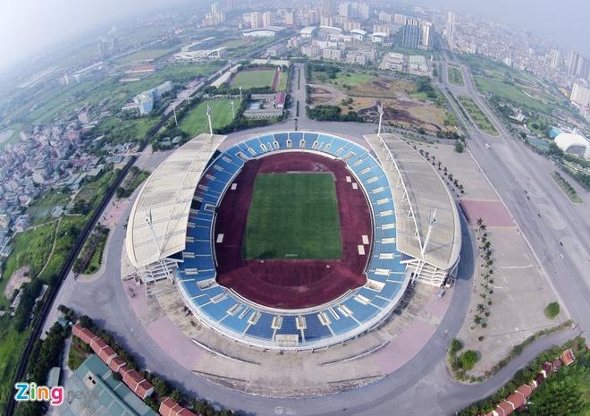 Hai CLB Viet Nam thue san My Dinh da AFC Cup hinh anh 1