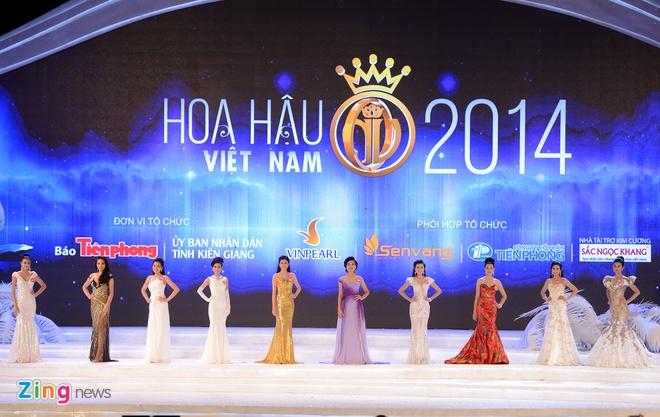 Toan canh dem chung ket Hoa hau Viet Nam 2014 hinh anh 18
