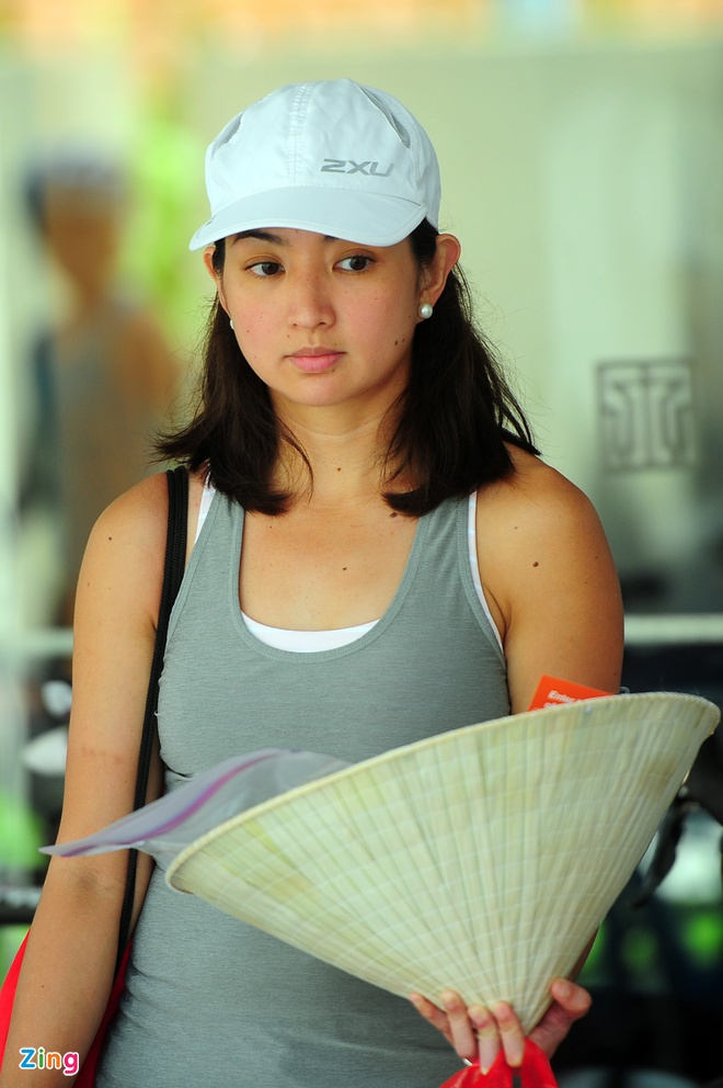 Lao tuong gan 80 tuoi tham du Ironman 70.3 tai Viet Nam hinh anh 2 Trong đó có không ít những thí sinh nữ đăng ký tham dự, số lượng bản đăng ký không hề thua kém vận động viên nam, trong đó có cả nhưunxg vận động viên nữ chuyên nghiệp từng tham dự vòng chung kết thế giới.