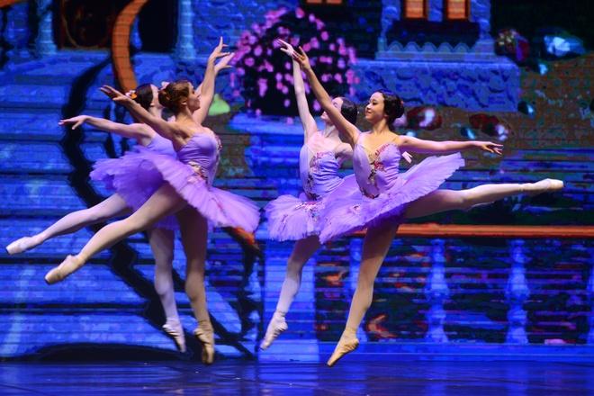 Vo ballet 'Kep hat de' gay an tuong tai Ha Noi hinh anh