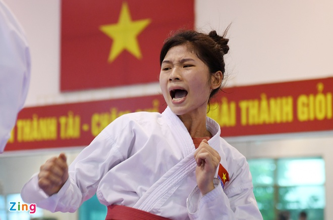 Karatedo Viet Nam va nhung ky vong vao lop tre tai SEA Games 29 hinh anh
