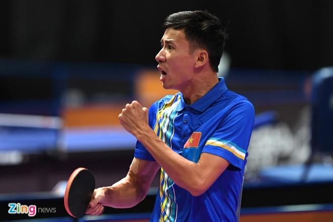 Huy chuong dau tien cho bong ban Viet Nam tai SEA Games 29 hinh anh