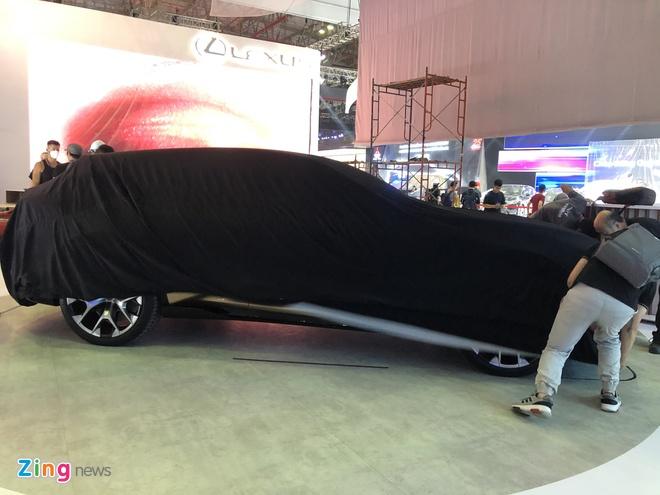 Xe concept Lexus lo dien truoc Vietnam Motor Show 2019 hinh anh 2
