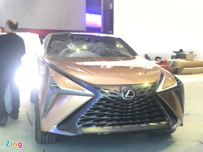 Xe concept Lexus lo dien truoc Vietnam Motor Show 2019 hinh anh 1