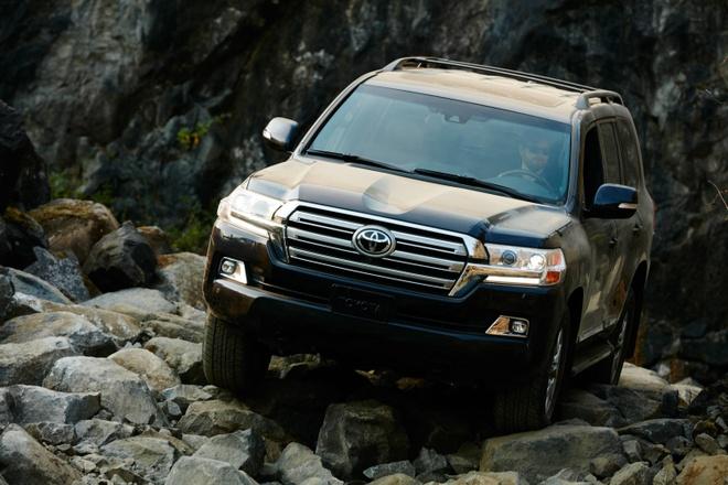 Toyota Land Cruiser anh 1