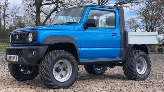 Do SUV Suzuki Jimny thanh xe ban tai dung lam nong hinh anh 1 Suzuki_Jimny_Pickup_Truck_1.jpg