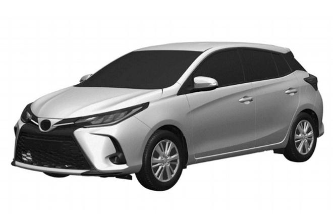 Toyota Yaris 2021 lo thiet ke moi giong Altis hinh anh 1 2020_Toyota_Yaris_facelift_1.jpg