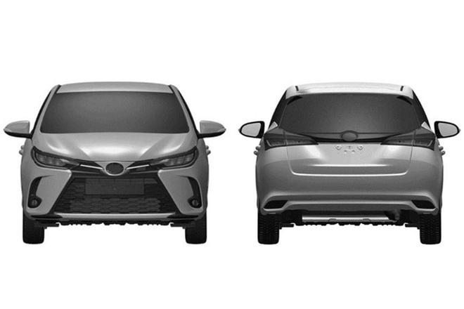 Toyota Yaris 2021 lo thiet ke moi giong Altis hinh anh 2 2020_Toyota_Yaris_facelift_4_.jpg