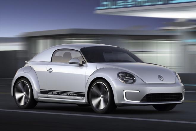 Volkswagen Beetle chay dien anh 2