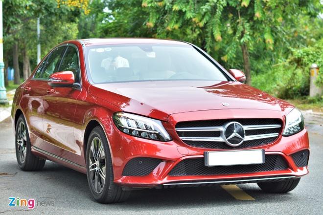 Mercedes-Benz C-Class anh 1