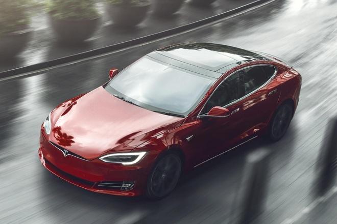 xe dien Tesla anh 2