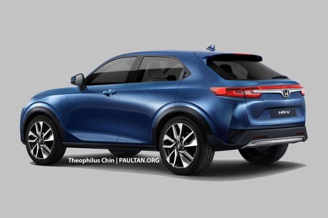 Honda HR-V 2021 anh 2