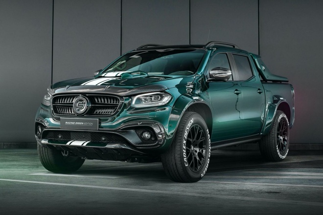 Mercedes-Benz X-Class duoc do theo phong cach xe dua the thao hinh anh
