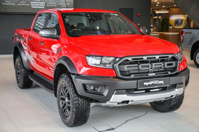 Chi tiết Ford Ranger Raptor X Special Edition tại Malaysia