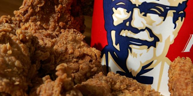 canh sat bat phat nho KFC anh 1