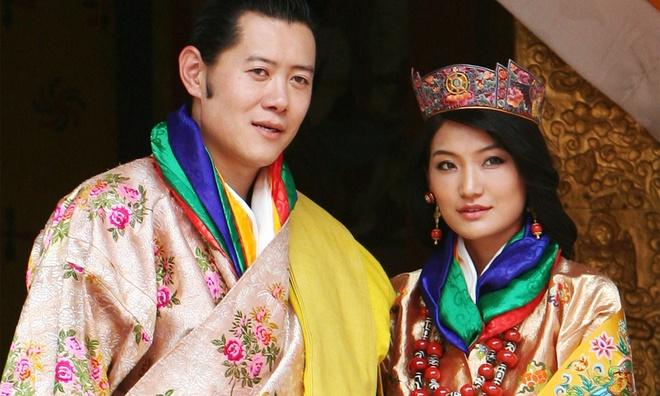 gia dinh Quoc vuong Bhutan anh 1