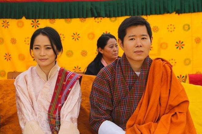 gia dinh Quoc vuong Bhutan anh 4