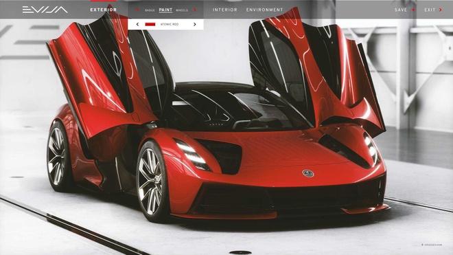 Sieu xe Lotus,  sieu xe Anh quoc,  Lotus Evija anh 1